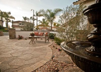 Custom Courtyard Hardscape Contractors 5