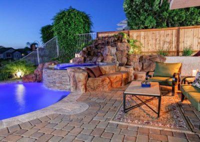 Custom Rockscape Pool Builders 1
