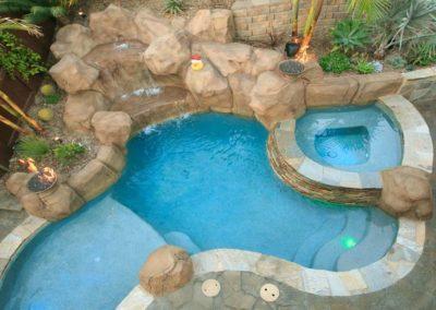 Custom Rockscape Pool Builders 3