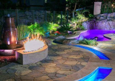 Custom Rockscape Pool Builders 8