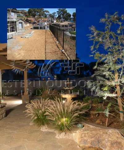 Drought Tolerant Xeriscape Before and After