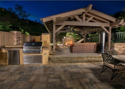 outdoor living cabana contractors 105