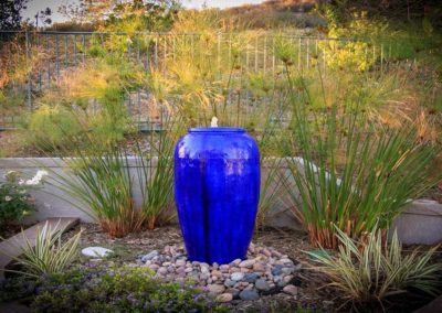 patio urn water fountain feature installers 3