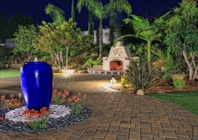 patio urn water fountain feature installers 4