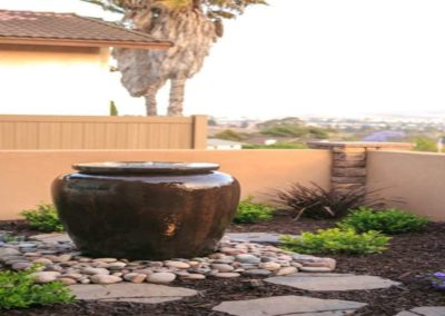 patio urn water fountain feature installers 5