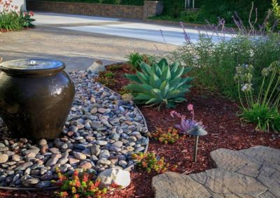 patio water bowl fountain installers 1
