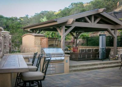 Stucco Outdoor Kitchen Contractors 10
