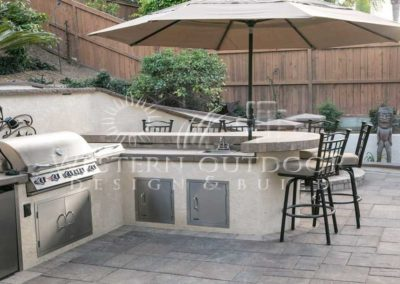 Stucco Outdoor Kitchen Contractors 18