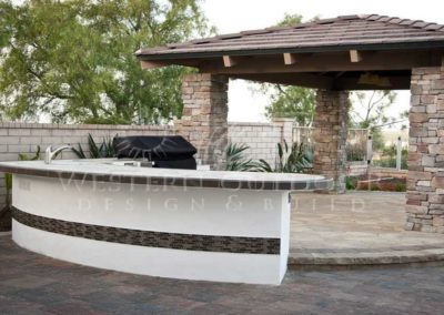 Stucco Outdoor Kitchen Contractors 19