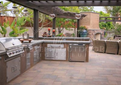 Stucco Outdoor Kitchen Contractors 7